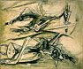 Untitled by Wilfredo        Lam