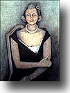 Portrait of Mrs. Natasha Gelman by Rufino        Tamayo